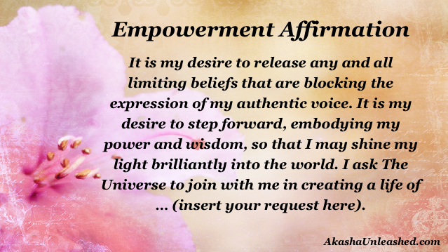 empowerment affirmation, prayer, blessing, eclipse, higher consciousness, akashic records wisdom